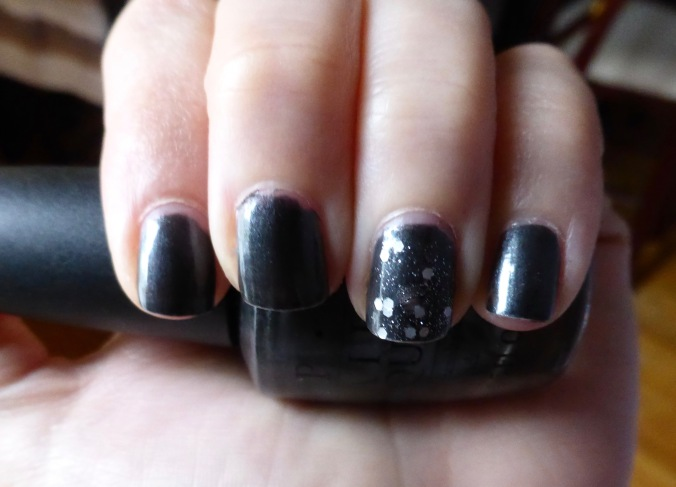 OPI Black Satin