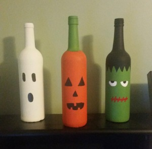 A little Pinterest-inspired Halloween display that I made a few years ago!
