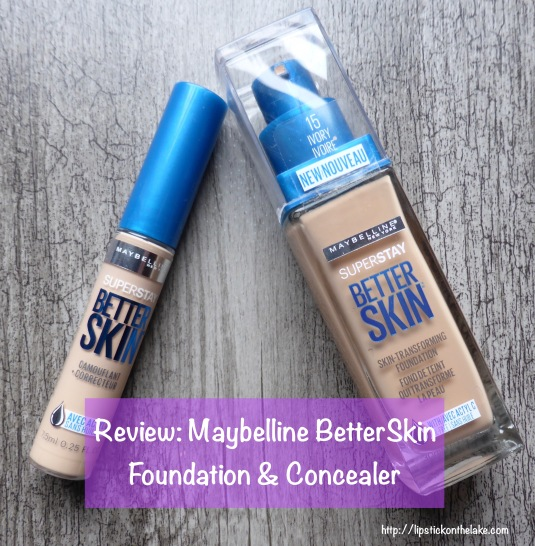 Maybelline BetterSkin Foundation Concealer Ivory