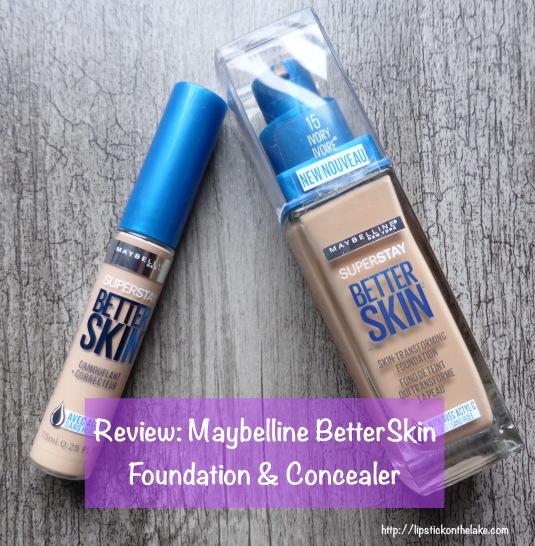 Maybelline BetterSkin Foundation Concealer Ivory