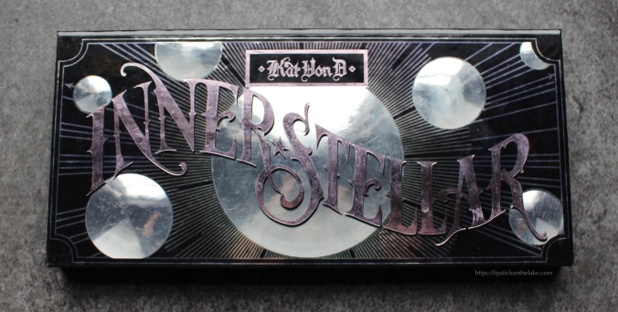 Kat Von D Innerstellar Eyeshadow Palette Packaging