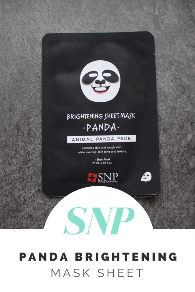 SNP Panda Brightening Mask Sheet