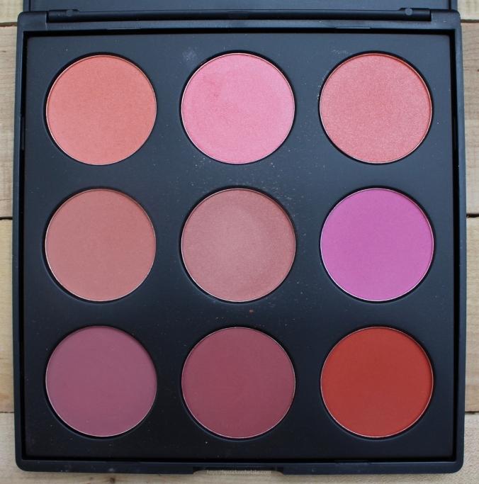 Pantone Coral Makeup Morphe 9B
