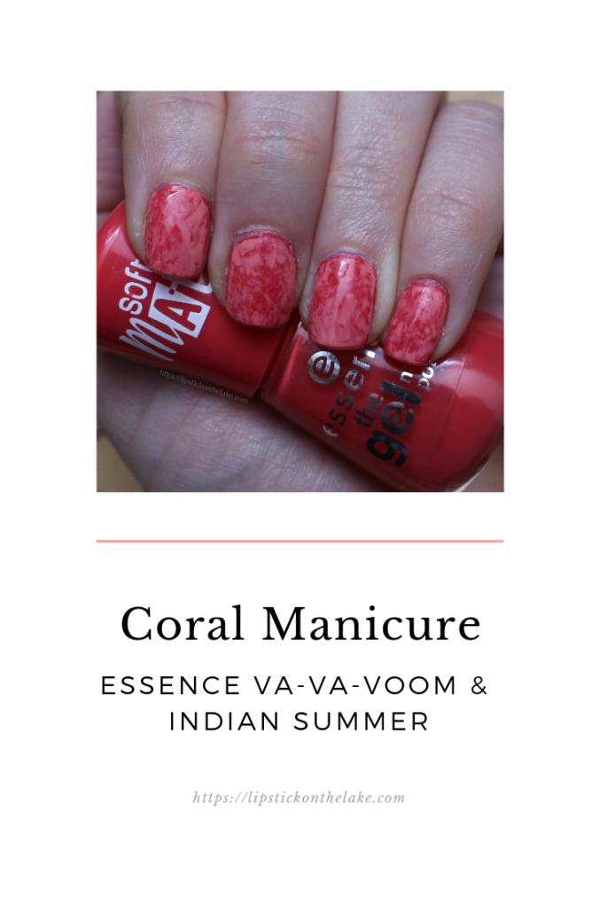 Essence Va-Va-Voom: Pantone Coral