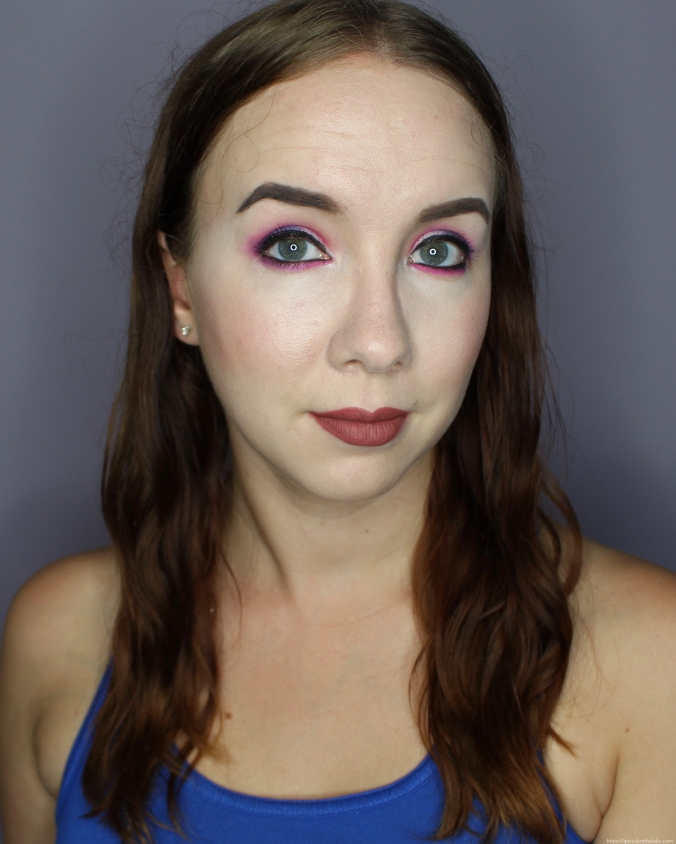 Makeup Revolution Constellation Palette Colourful Makeup Look