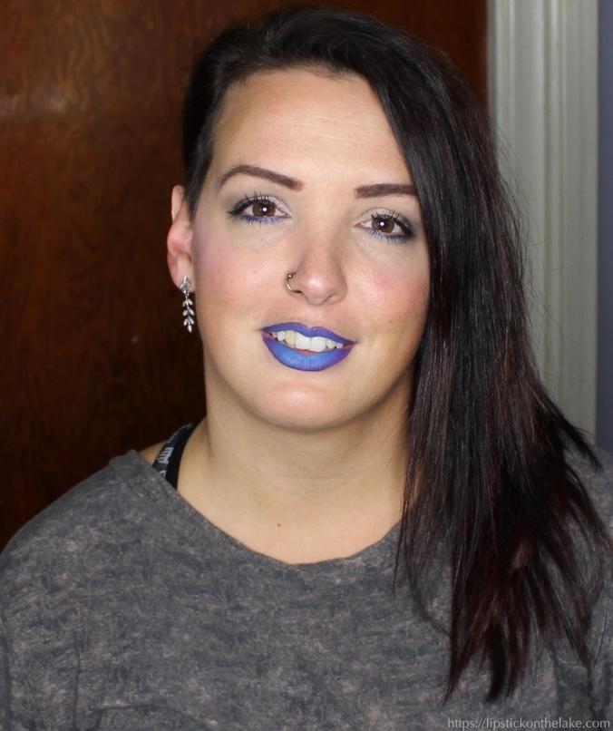 Blue Lipstick Night