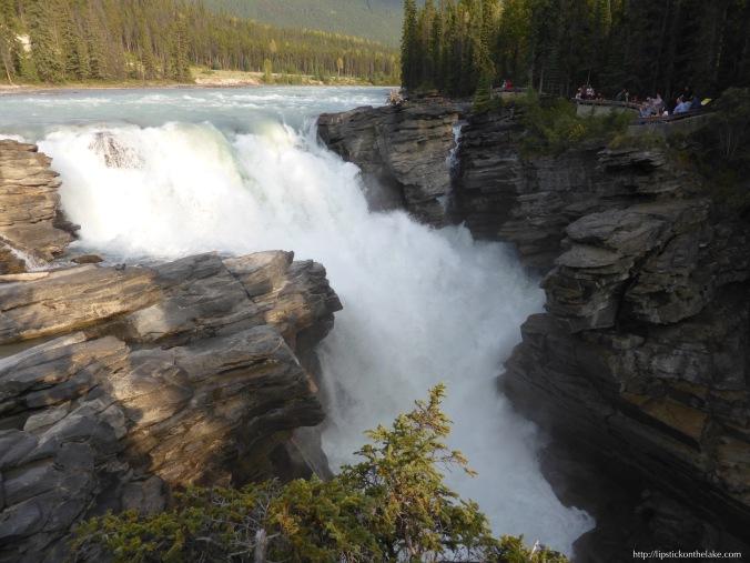 Jasper-Athabasca-Falls