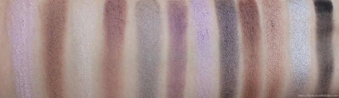 Kat Von D Innerstellar Eyeshadow Palette Swatches