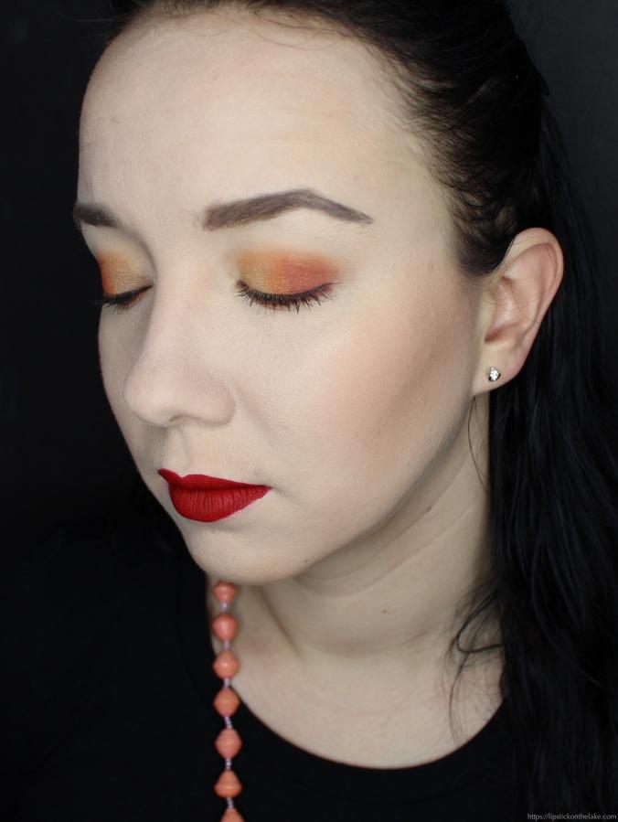 Kat Von D 10th Anniversary Palette Warm Eyeshadow Look