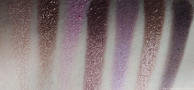 Anastasia Beverly Hills Norvina Palette Swatches Row 1