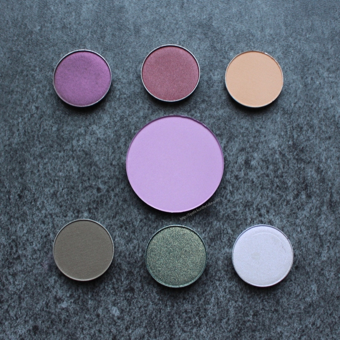 Makeup Geek Eye Shadow and Blush Pans
