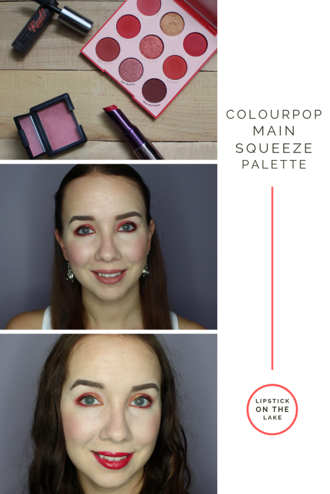 Colourpop Main Squeeze Palette