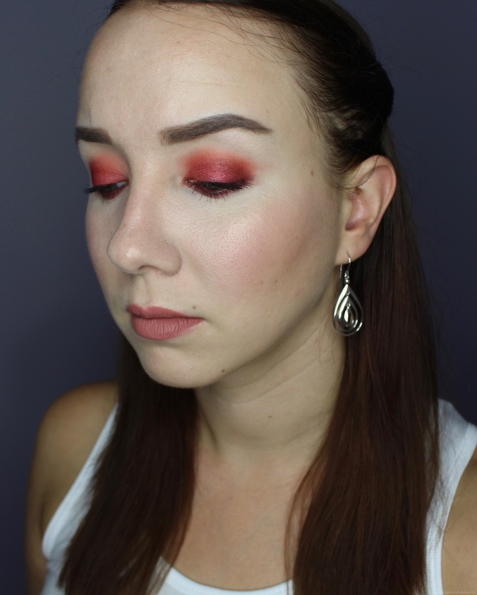 Colourpop Main Squeeze Palette Makeup Look