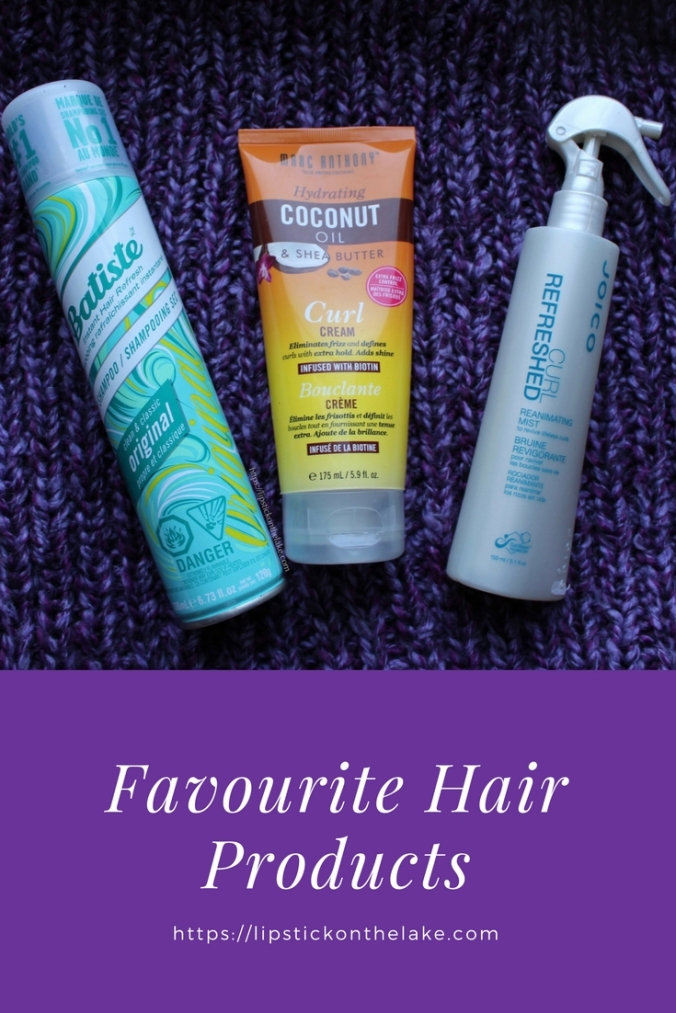 Favourite Hair Products