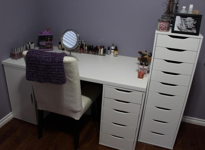 Beauty Room Organization