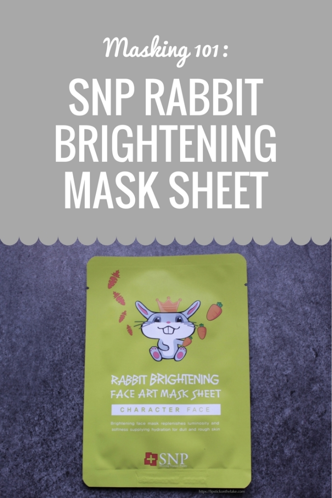 SNP Rabbit Brightening Mask