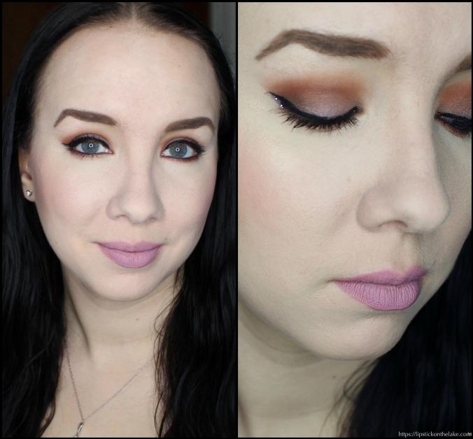 Zoeva Cocoa Blend Makeup Look