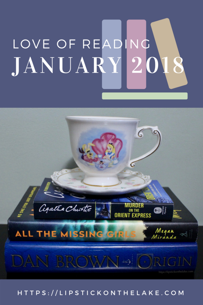 Love of Reading January 2018