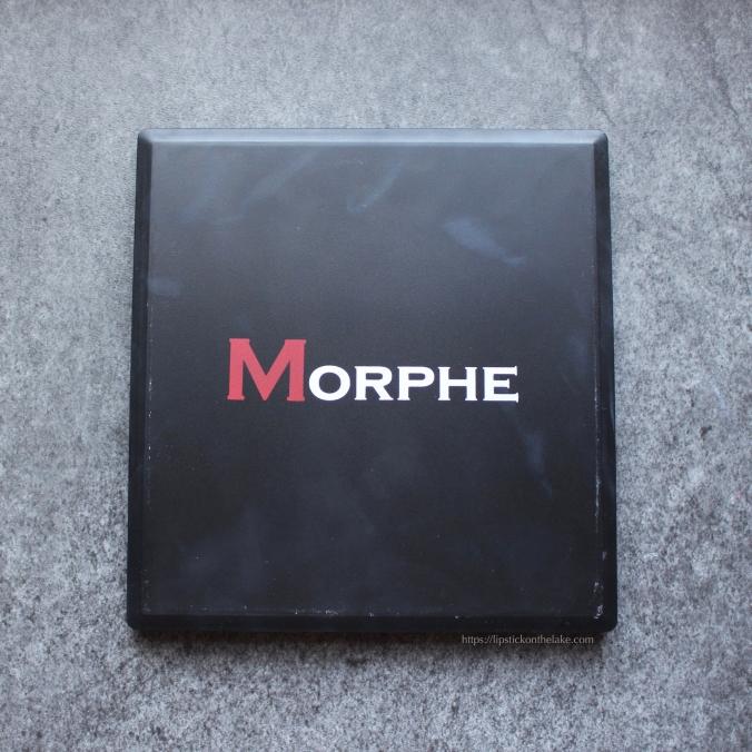 Morphe 9B Palette Packaging