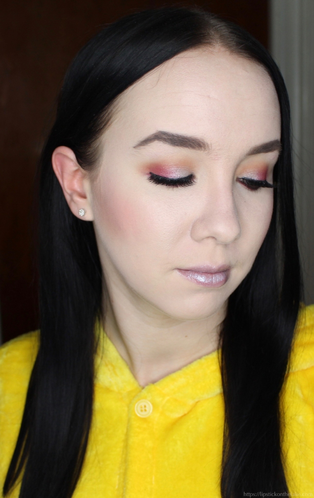 Violet Voss Ride or Die Palette Makeup Look