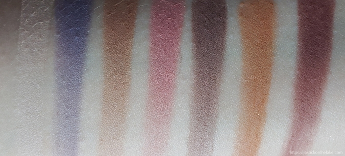 Anastasia Beverly Hills Norvina Palette Swatches Row 2