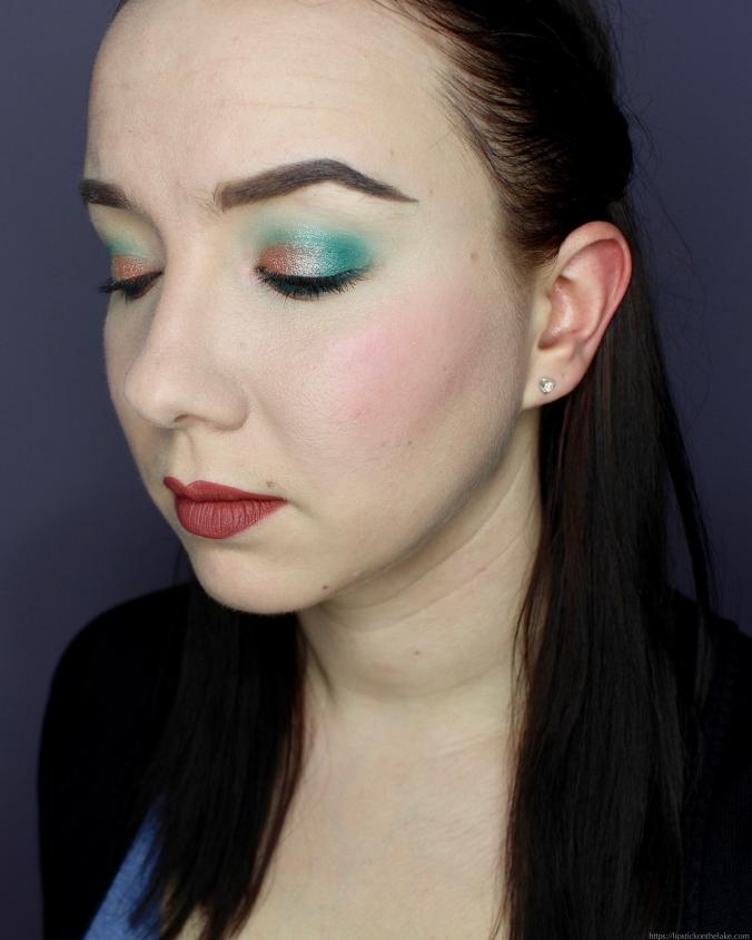 Easter Makeup Look Colourpop Pressed Eyeshadows