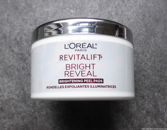 loreal-revitalift-bright-reveal-brightening-peel-pads