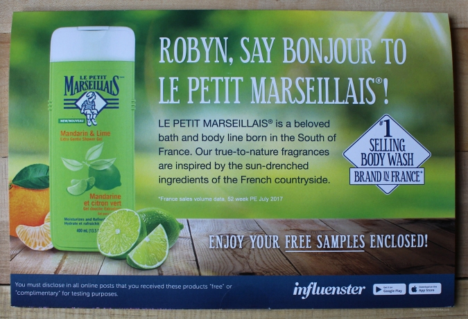 Le Petit Marseillais Mandarin & Lime Body Wash