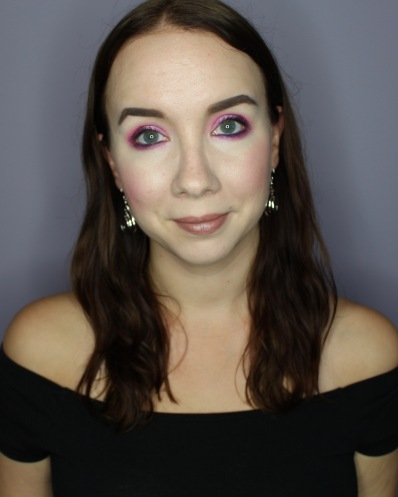 Violet Voss Sugar Crystals Palette Makeup Look