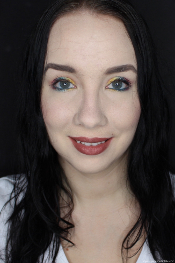 Colourful Easter Makeup Look