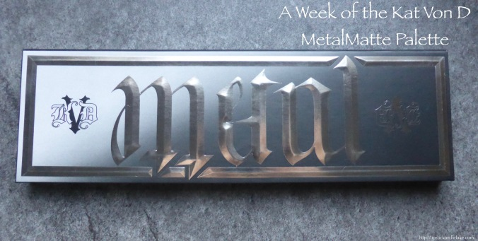Kat Von D MetalMatte Palette