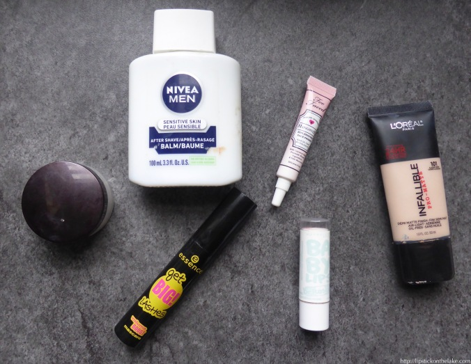 Q4 Empties Makeup