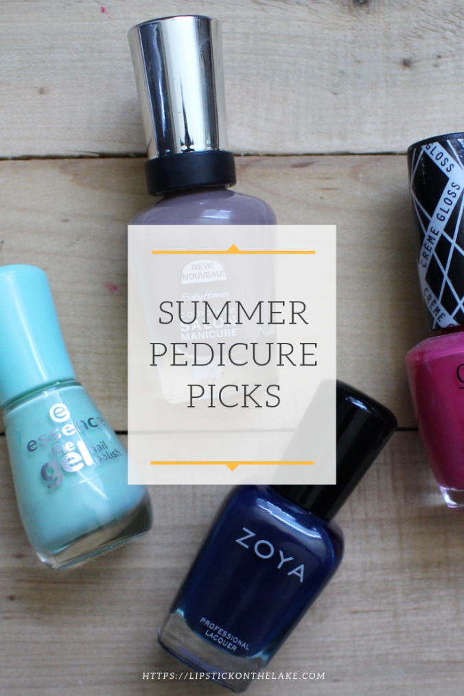 Summer Pedicure Picks