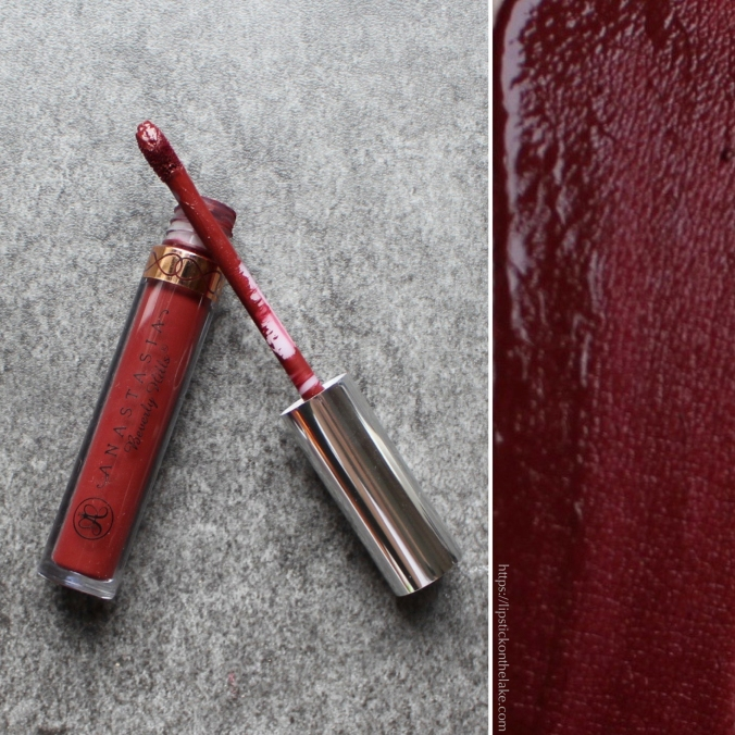 Vampy Lipsticks Anastasia Beverly Hills Heathers