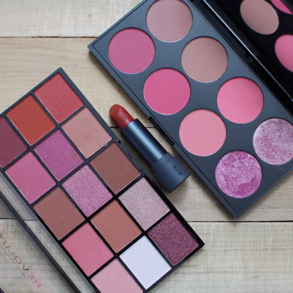Makeup Revolution Neutrals 2 and Sugar & Spice Blush Palette