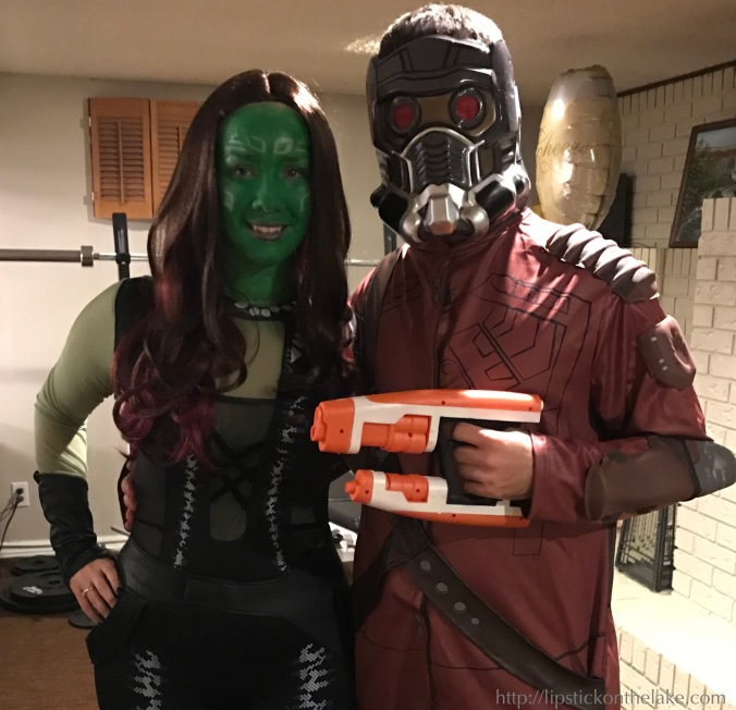 gamora star-lord halloween costume