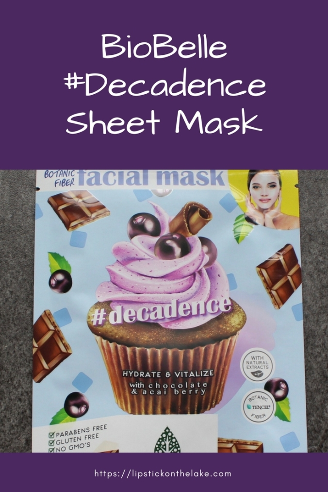 BioBelle #Decadence Sheet Mask