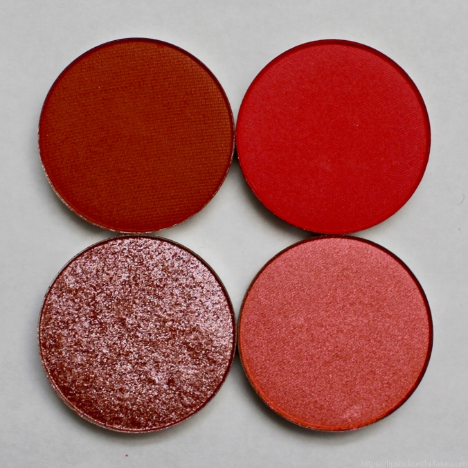 Colourpop Custom Palette Reds