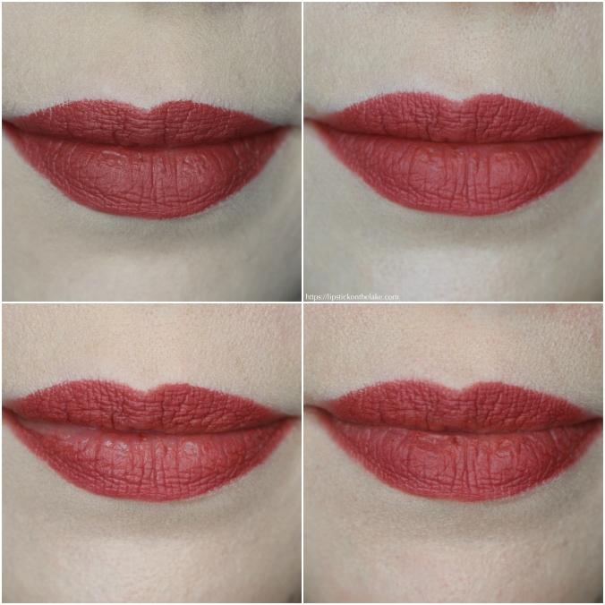 Fenty Beauty Mattemoiselle Plush Matte Lipstick Wear Test