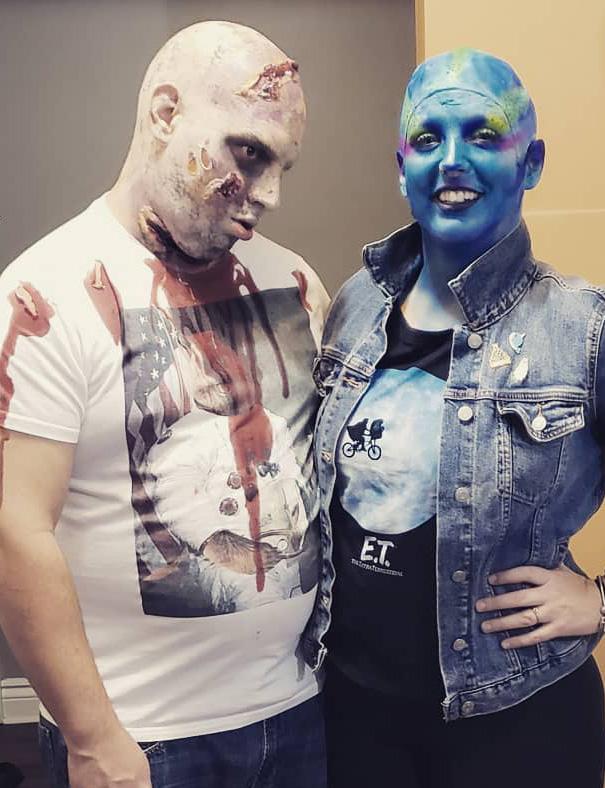 Zombie & Alien Halloween Costumes