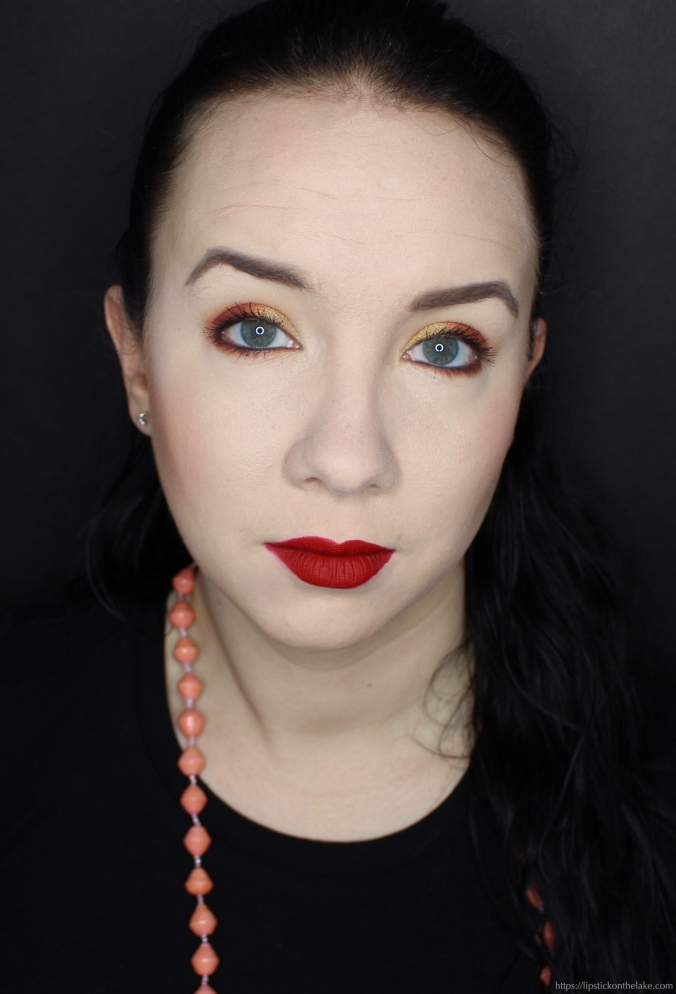 Kat Von D 10th Anniversary Palette Warm Eyeshadow Look