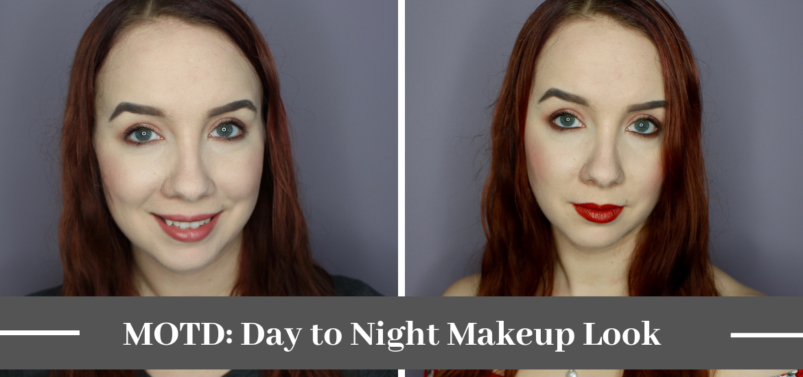Motd Day To Night Makeup Look Lipstick On The Lake