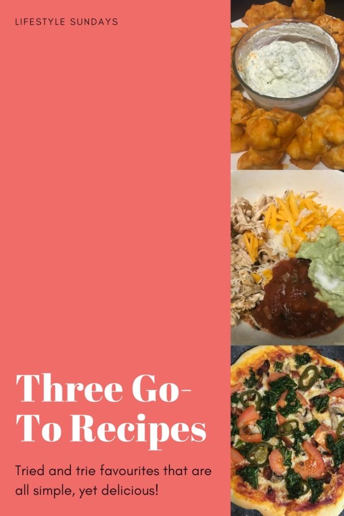 Go-To Recipes
