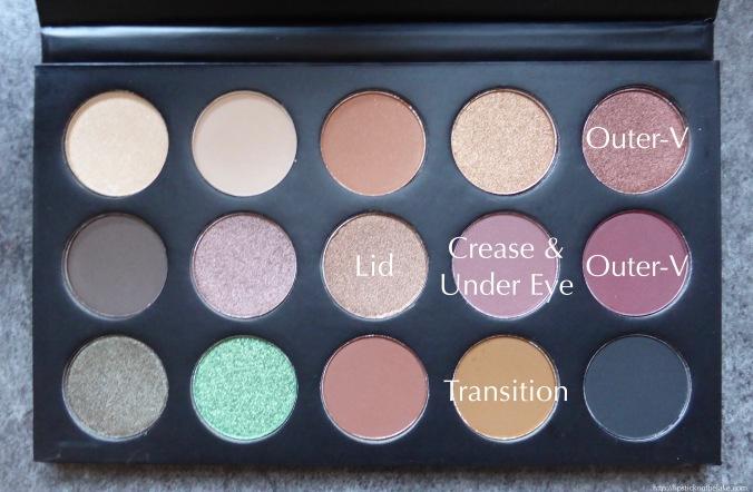Morphe x Kathleenlights Eye Shadow Palette Makeup Look Guide