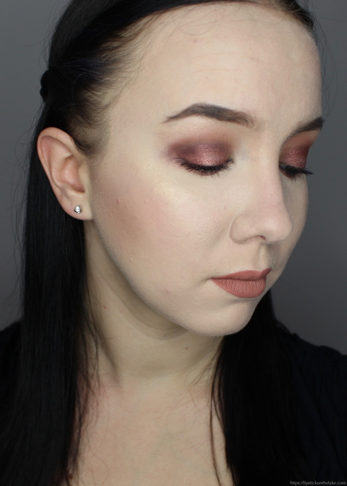 Anastasia Beverly Hills Norvina Palette Makeup Look Rose Gold