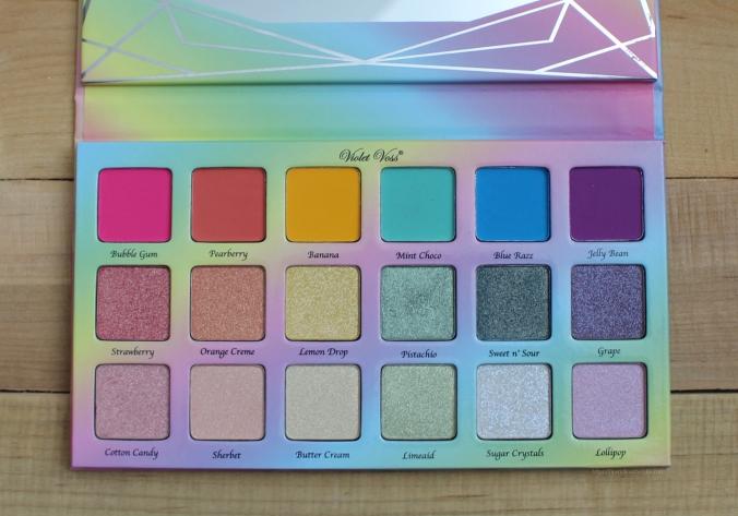 Sephora Haul Violet Voss Sugar Crystals Palette