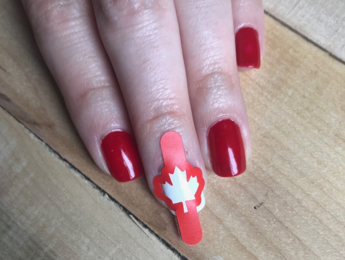 Whats Up Nails Canadian Flag Nail Vinyls