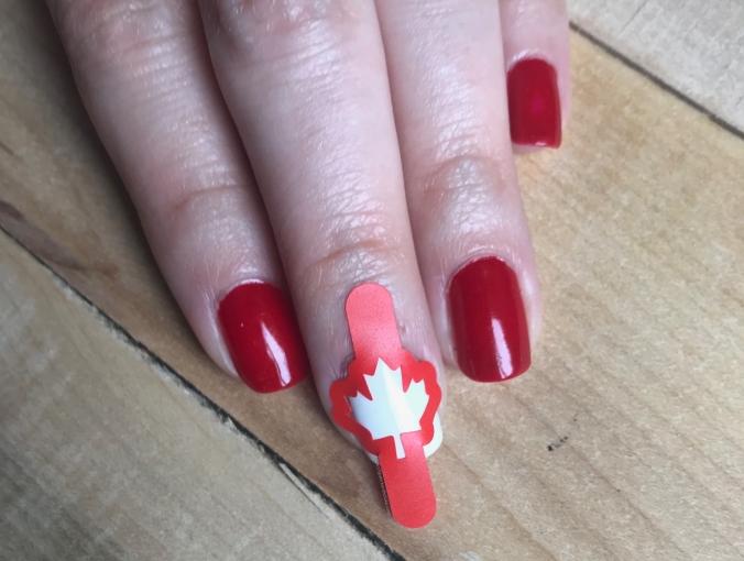 Whats Up Nails Canadian Flag Nail Vinyls