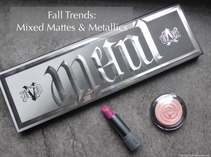 Fall Trends Mixed Mattes Metallics