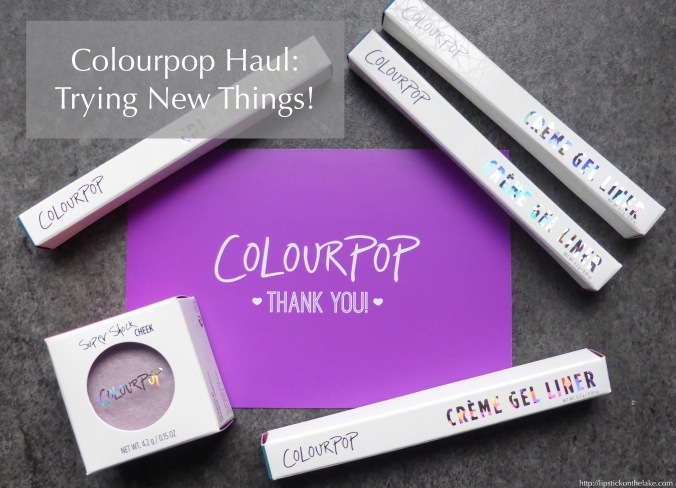 colourpop-haul